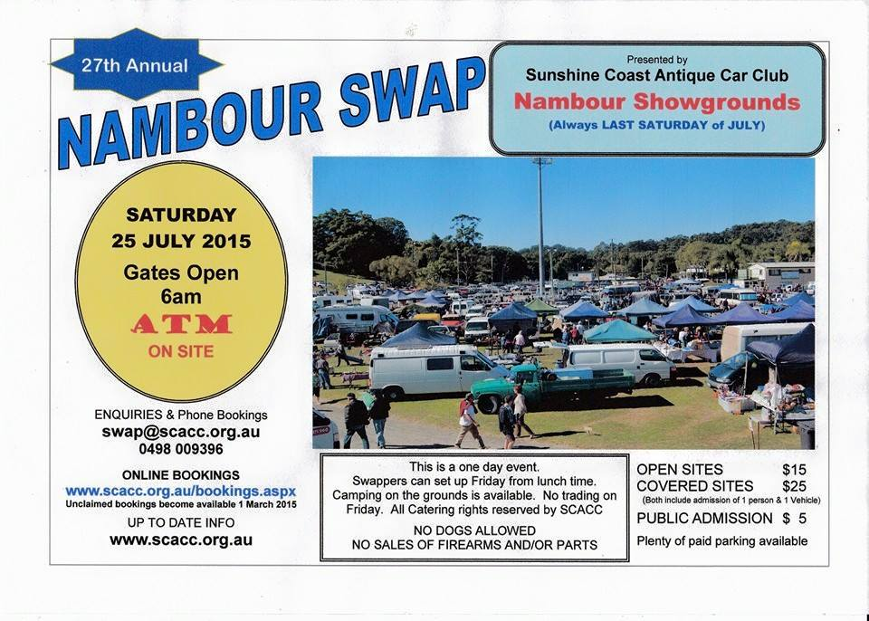 nambour swap meet 2015